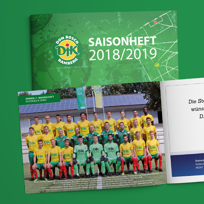 Saisonheft DJK Don Bosco Bamberg